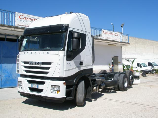 IVECO IVECO STRALIS 450 CUBE 3 ASSI TELAIO a Camion oltre 7,5 Ton